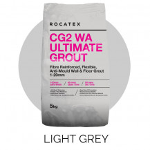 Rocatex CG2 WA Ultimate Light Grey 5kg Grout Bag