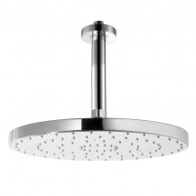 Round Shower Head 200x200 with 100mm Round Shower Arm