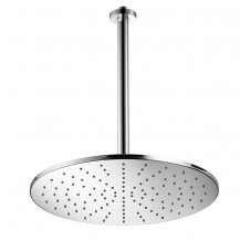 Albano Round Large Showerhead with 300mm Shower Arm