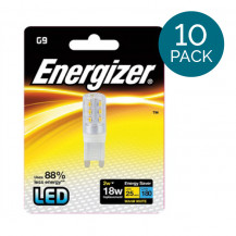 10 Pack - Energizer - LED G9 Warm White Light Bulb