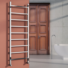 Scala 1200 x 500 Steel Heated Towel Rail