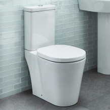 Ravenna Short Projection Toilet and Soft Close Seat with Pan Connector