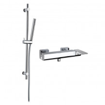 Loreto Bar Shower Valve & Dafne Slide Shower Rail Kit