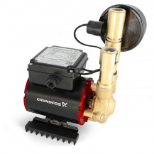 Grundfos Amazon SSN-3.0B Universal Single Impeller Brass Regenerative Shower Pump