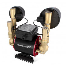 Grundfos Amazon STN-2.0 B Universal Twin Impeller Brass Regenerative Shower Pump