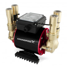 Grundfos Amazon STP-4.0B Positive Twin Impeller Brass Regenerative Shower Pump