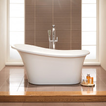 Torrelino 1520x750mm Single Slipper Freestanding Bath