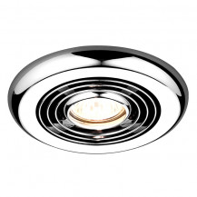 Turbo Inline Chrome Wet Room Fan
