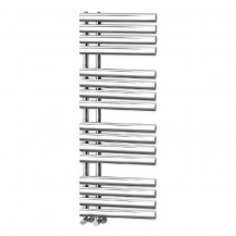Finesse Designer 1200 x 450mm Chrome Heated Towel Rail