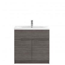 Hudson Reed Urban Grey Avola Floor Standing 800mm Vanity Unit with Mid-Edge Basin