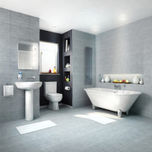 Voss Freestanding Bathroom Suite