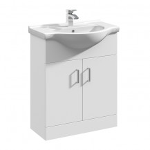 Premier Mayford High Gloss White 650 Basin Unit