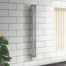 Newark Designer  1700 x 138mm Stainless Steel Radiator