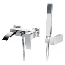 Wave Wall Mounted Bath Shower Mixer