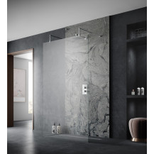 Hudson Reed 800mm Wetroom Screen 8mm