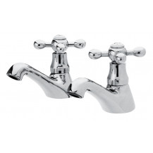 Premier Viscount Chrome Basin Taps