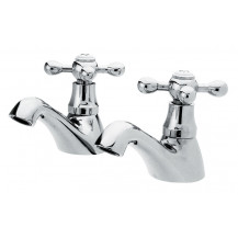 Premier Viscount Chrome Bath Taps