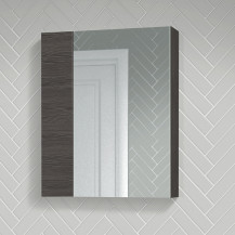 Atlanta 600mm Grey Avola Mirror Cabinet