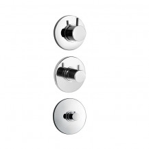 Zeta 3 Outlet Thermostatic Valve