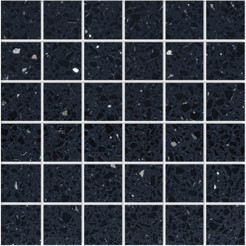 Gemstone Black Wall/Floor Mosaic