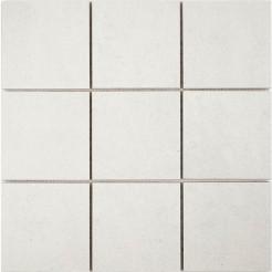 Cementi White Porcelain Wall/Floor Mosaic