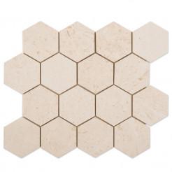Belek Irish Cream Wall/Floor Mosaic