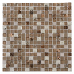 Jewel Brown Wall Mosaic