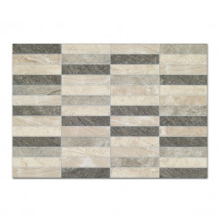 Polis Relieve Gris Wall Tile