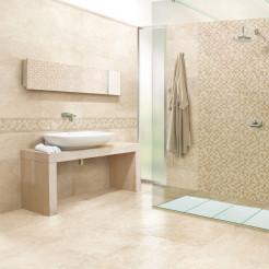 Wind Wall Tile Travertine Effect Wall/Floor Tile