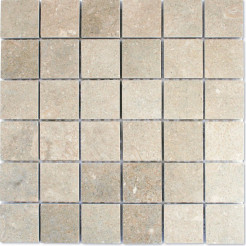 Fossil Grey Honed Wall/Floor Mosaic