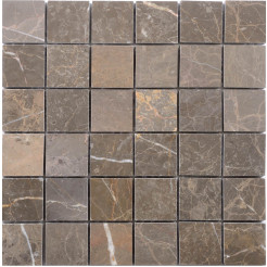 Fantastic Brown Wall/Floor Mosaic