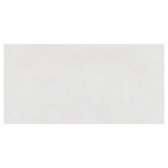 Foster White Glazed Porcelain Wall/Floor Tile