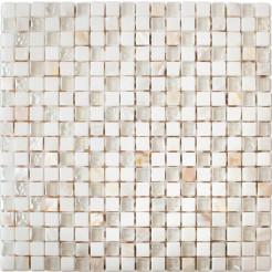 Glass Pearl Wall Mosaic