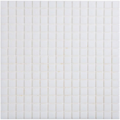 Polar White Wall Mosaic