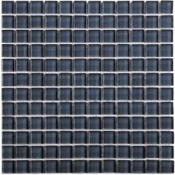 Grey Glass Wall Mosaic