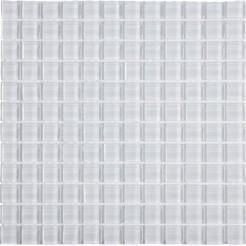 White Glass Wall Mosaic