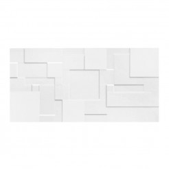 Patchwork White Gloss Wall Tile