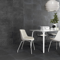 Gesso Anthracite Wall Tile