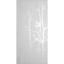 Laura Ashley Cottonwood Feature White Field Wall Tile