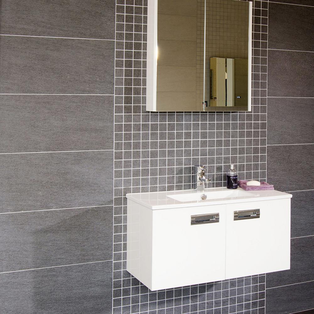 Quattro Titanium Wall Floor Tile