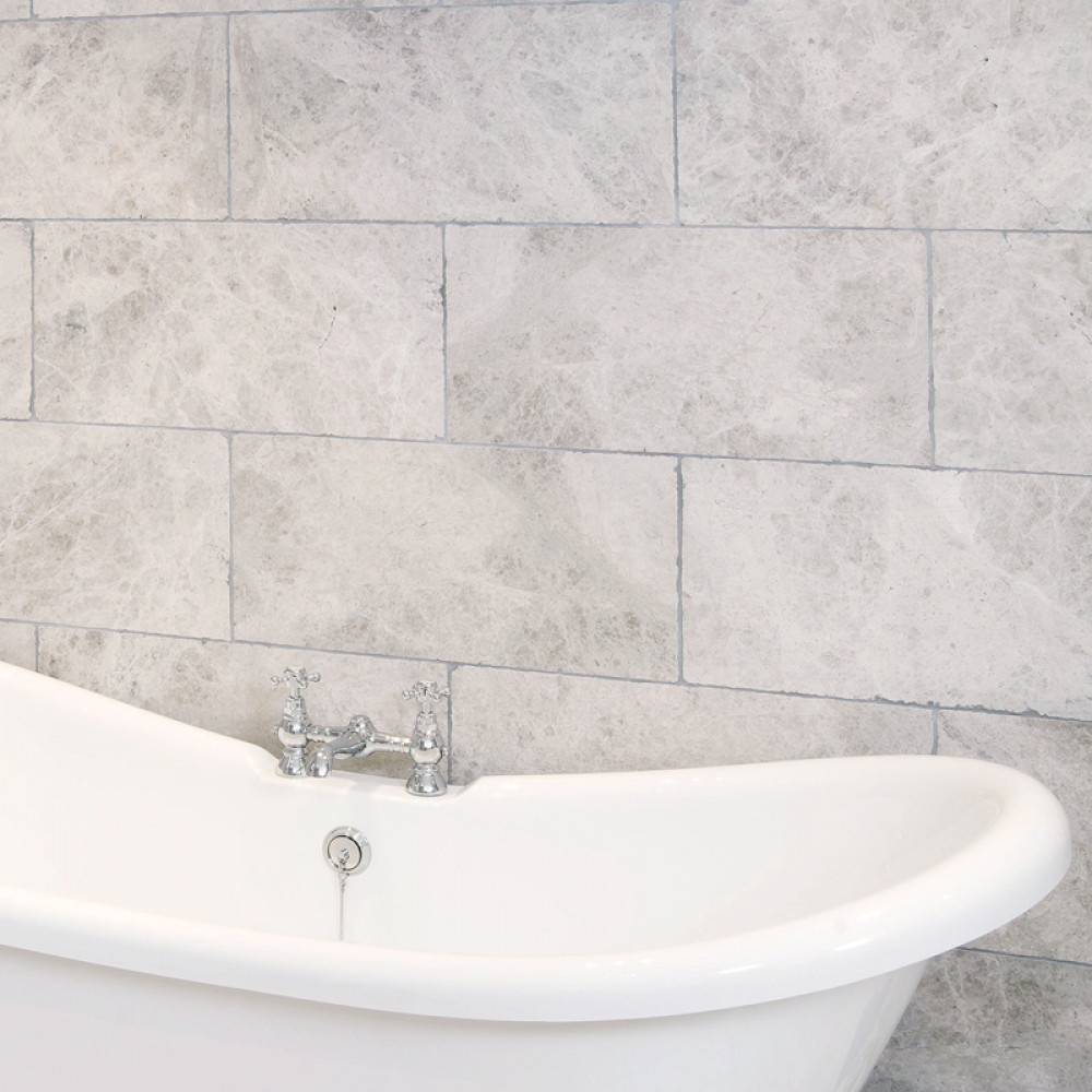 Silver Beige Tumbled Wall Floor Tile