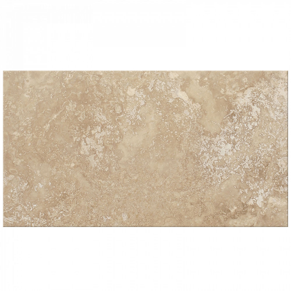 Premium Classic Beige Rectangular Honed Filled Travertine Wall Floor Tile