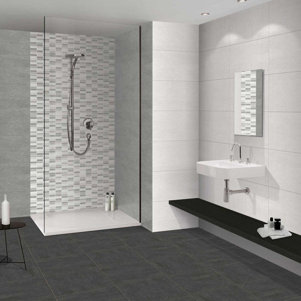 Wall Tile For Bathrooms: Mr Serpal Gris Linea Tile