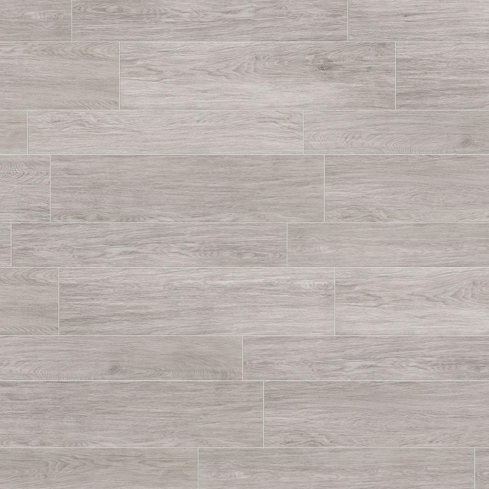 Trendwood Platinum Glazed Porcelain Rectified Floor Tile
