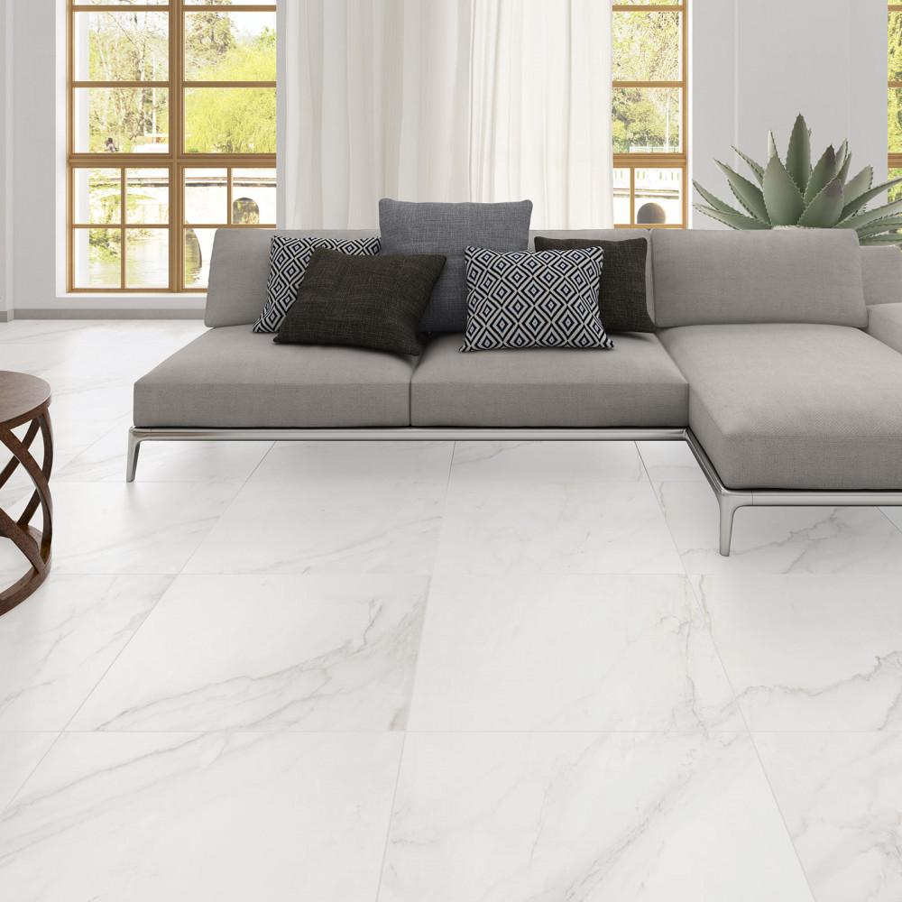 Oporto Carrara Glazed Porcelain Wall Floor Tile