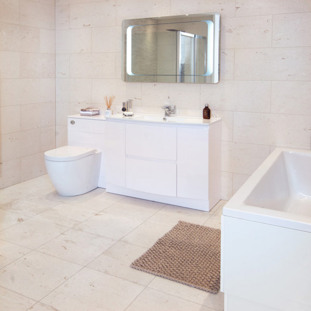 Irish cream honed marble tile irish cream honed wallfloor tile doublecrazyfo Image collections