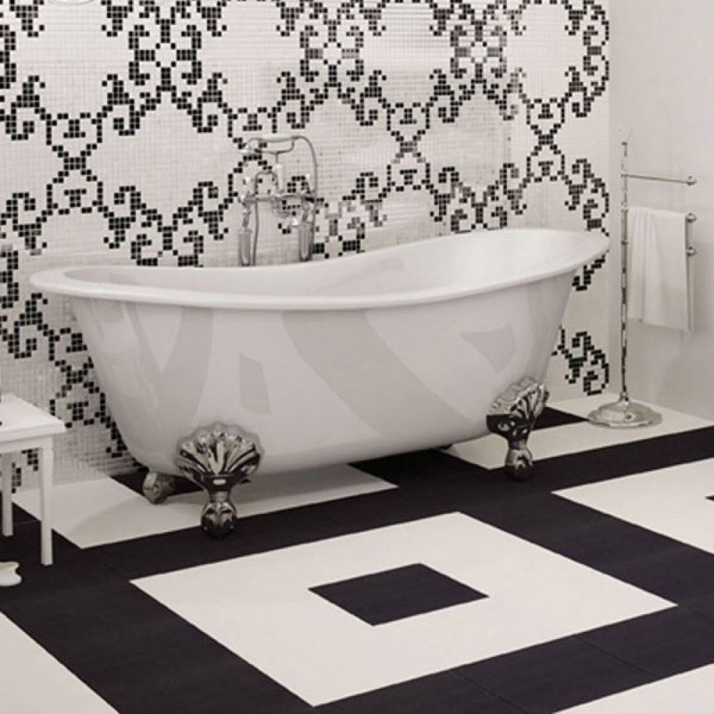bathroom tile porcelain venise noir black wall floor tile 11666