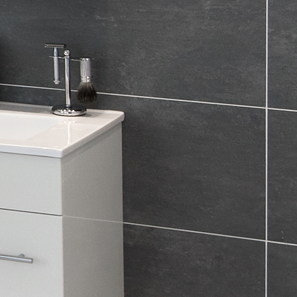 Grey Porcelain Bathroom Tiles
