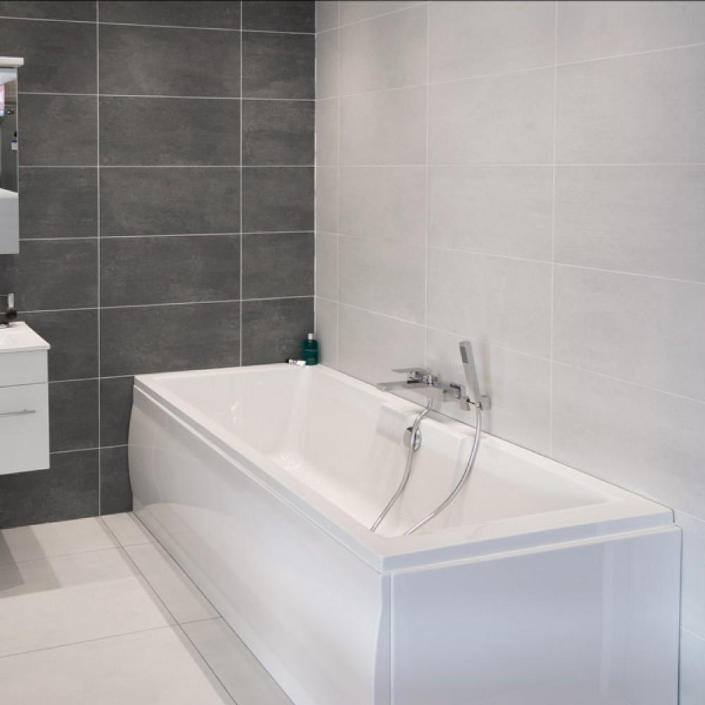 Cementi White Porcelain Wall/Floor Tile