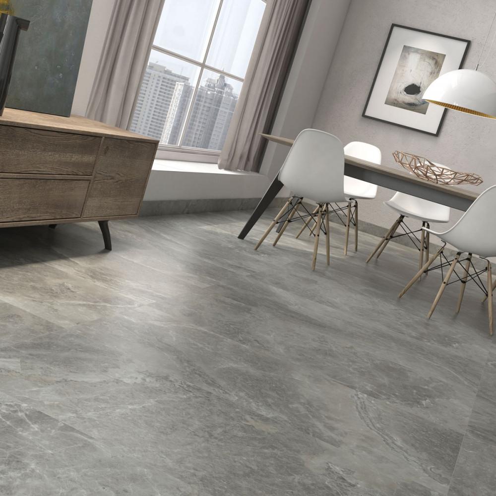 Porcelain Bathroom Floor Tiles: Large Format Arezzo Marengo Polished Porcelain Rectified